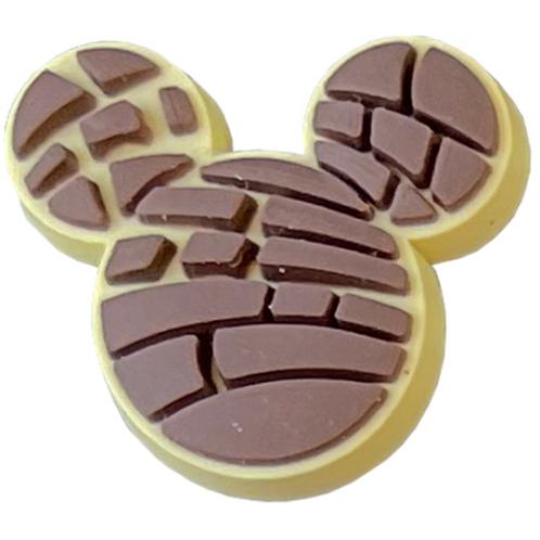 Concha Ears Chocolate Shoe Charm