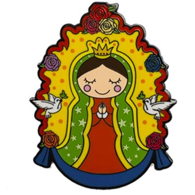 Virgencita - Metal Enamel Pin