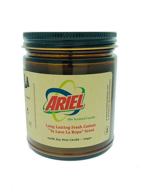 Ariel-Like Soap Laundry Detergent Scented 100% Soy Candle ~ 8oz