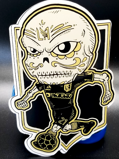 Black and Gold- Premium Vinyl Stickers