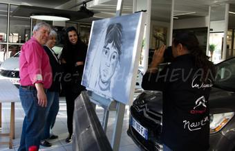 Serge Mandas et ses partenaires artistiques