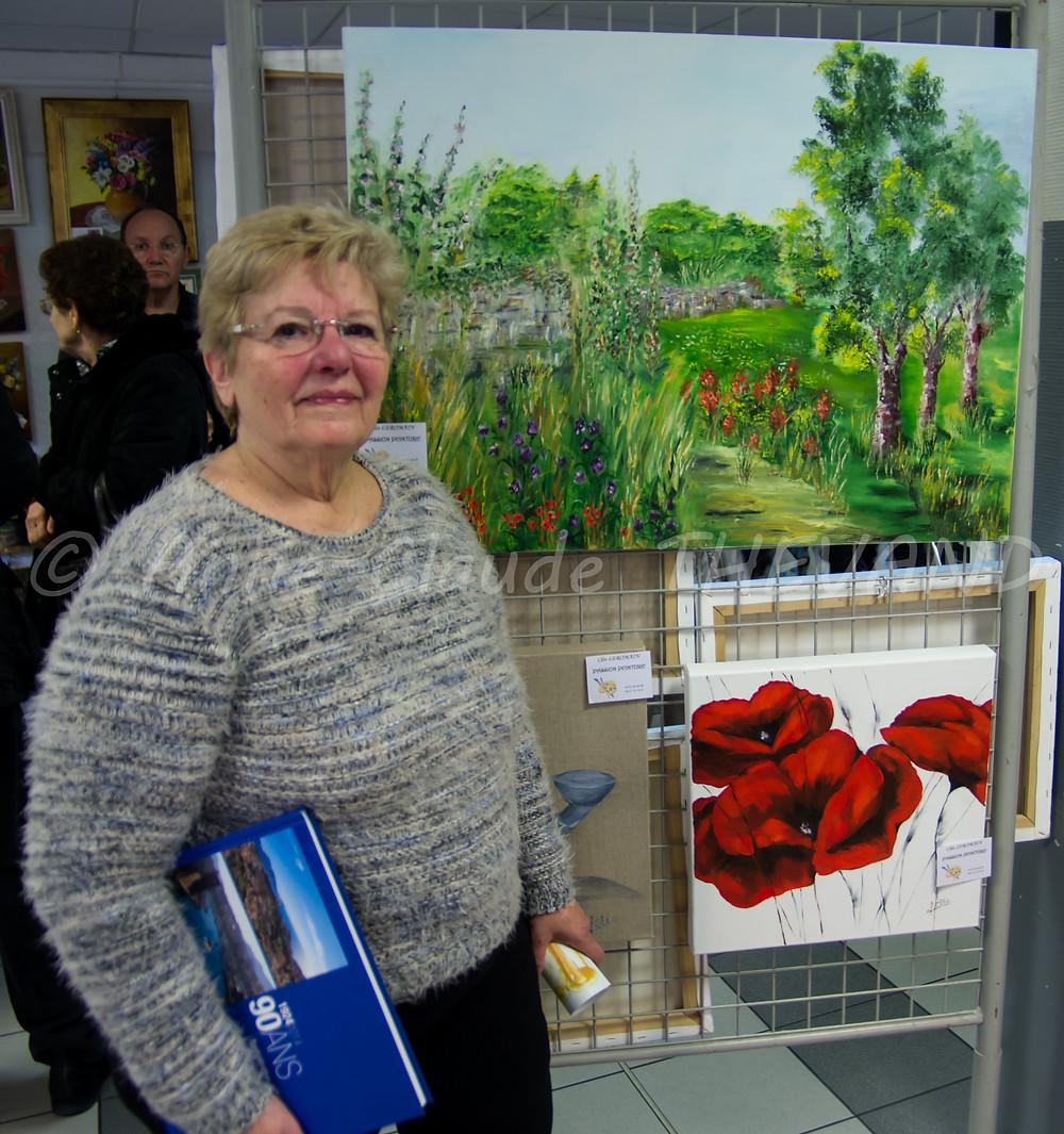 Exposition de peinture du Merlan 27-02-16 ACT 13