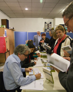 Signature du livre sur le Merlan en images