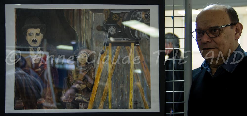Exposition de peinture du Merlan 27-02-16 ACT 14