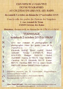 Exposition photographique à Gréoux