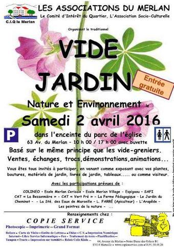 Exposition au Vide Jardin du Merlan