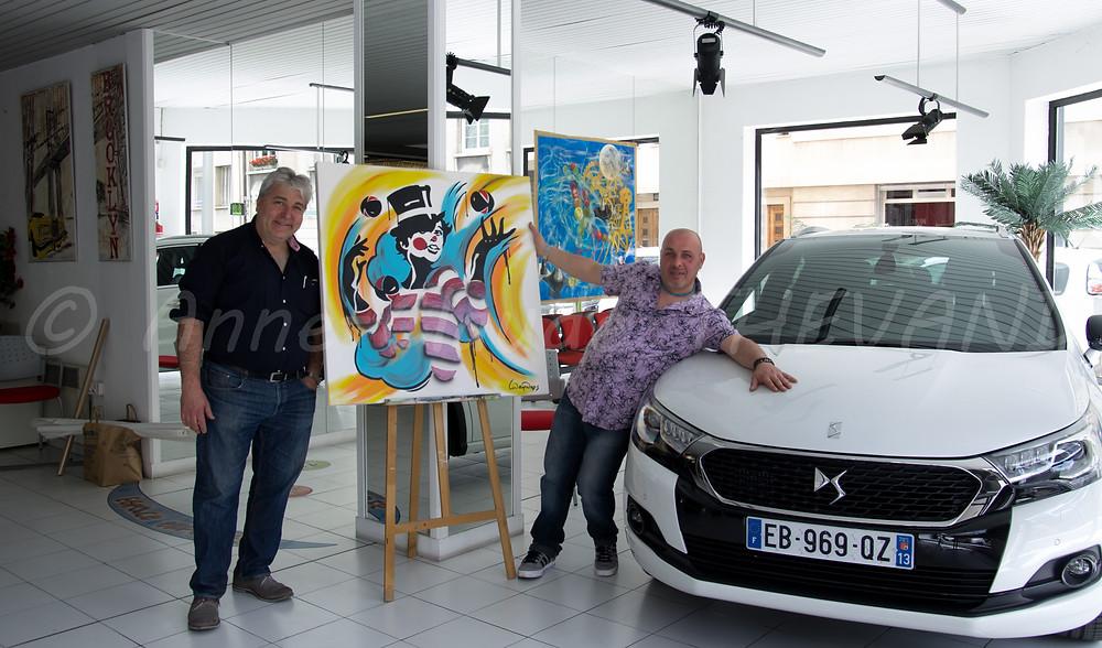 Serge Mandas chez Citroën Nourian