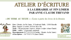 Ecrire à la librairie Au fin Limier