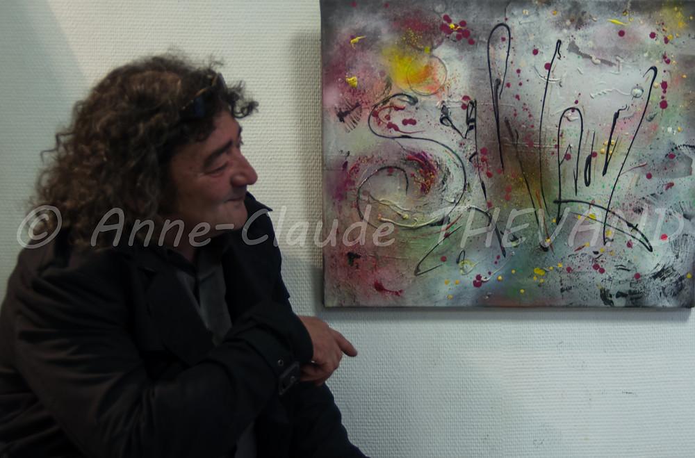 Exposition de peinture du Merlan 27-02-16 ACT 16