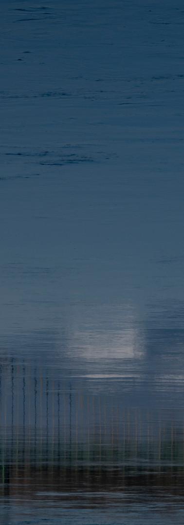 Les flots de mon âme Impression bleue