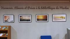 """""""Harmonie, Rêverie et Poésie"""" exposée à la bibliothèque municipale du Merlan"""