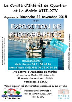 Exposition de photographies au Merlan