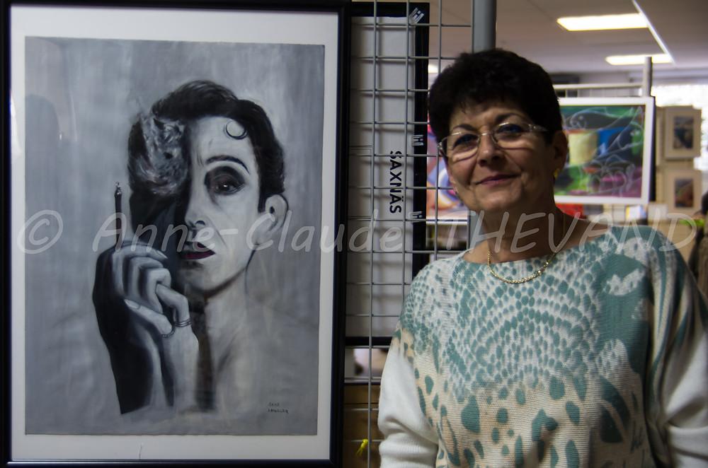 Exposition de peinture du Merlan 27-02-16 ACT 15
