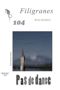 Revue d'écritures Filigranes en ligne