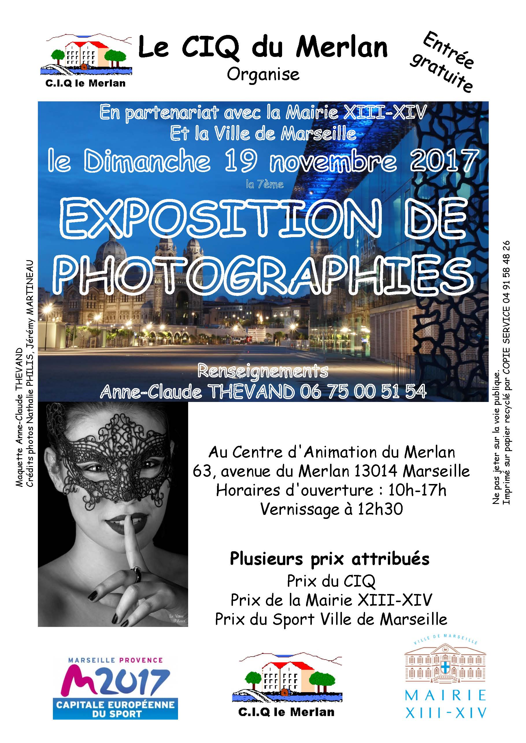 Expo photo Merlan 2017