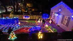 La maison illuminée de Plan-de-Cuques