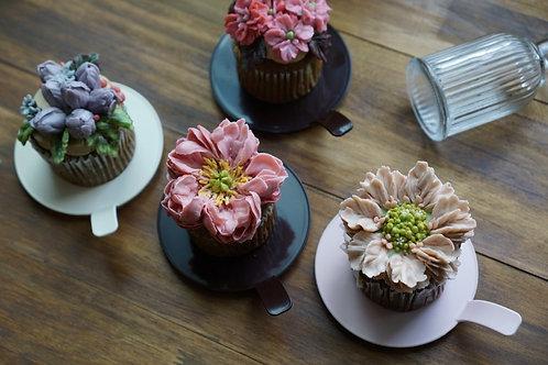 カップケーキケース(丸型)5個1セット:各3色