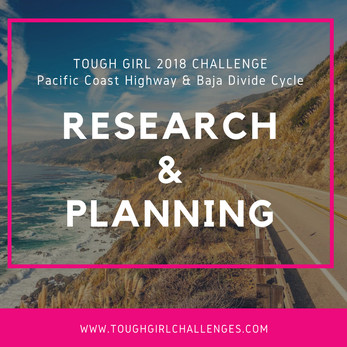 Research and Planning for the Pacific Coast Highway & Baja Divide Cycle!