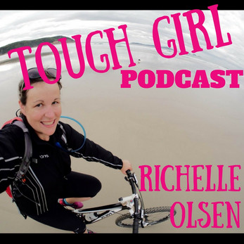 Richelle Olsen - An Aussie 30-something, plus sized everyday woman whose cycled nearly 5,000 kms fro