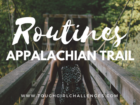 Planning Routines for the Appalachian Trail