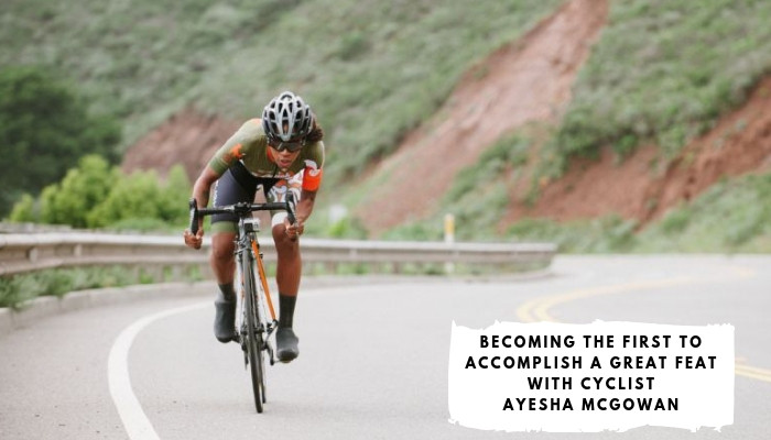 Ayesha McGowan - Her mission is to become the first ever African-American pro female road racer!