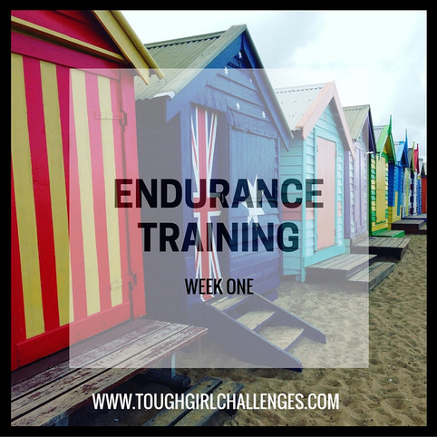 First Week of Proper Endurance Training!
