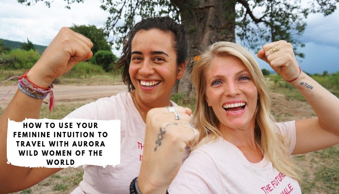Bettina Guirkinger and Kat Scriven from Aurora Wild Women of the World,  Adventuring through Africa in search of the powerful & inspiring women to share and document their stories.