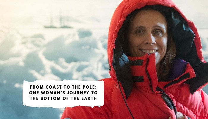 Wendy Searle - Attempting to break the women's speed record for solo expedition to the South Pole, November 2019.