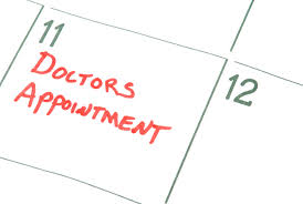 Time to book a Doctor's Appointment!