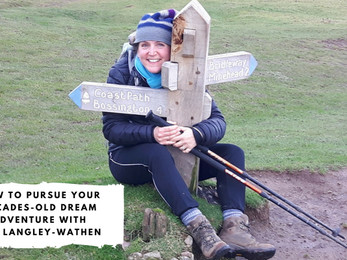 How to Pursue Your Decades-Old Dream Adventure with Zoe Langley-Wathen
