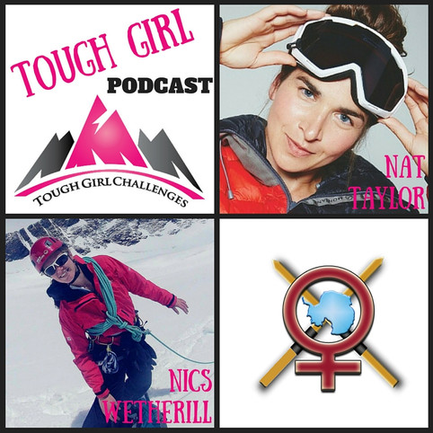 2 New Episodes of the Tough Girl Podcast! #SistersWithSledges