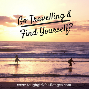 """Will you """"find yourself"""" when travelling and what does that even mean?"""