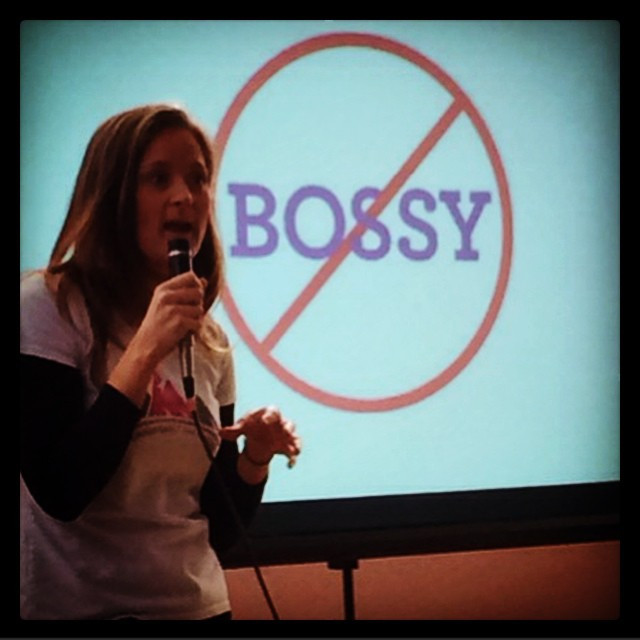 Instagram - Let's ban bossy and tell girls they have leadership skills!! #banbos