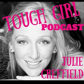 "Tough Girl - Julie Creffield - Author & Blogger behind ""Too Fat to Run"""