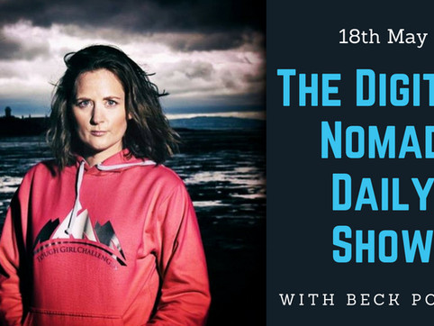 Podcast interview with Digital Nomad -  Beck Power