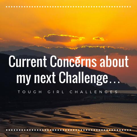 Current Concerns about my next Challenge…..