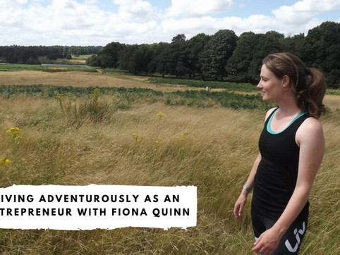 Living Adventurously as an Entrepreneur With Fiona Quinn