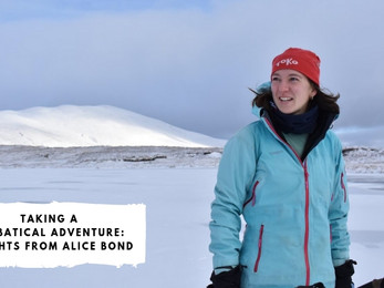 Taking a Sabbatical Adventure: Insights from Alice Bond