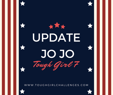 February Update from Jo Jo - One of the Tough Girl 7
