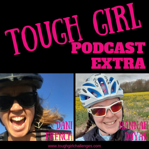 Dani French - 42 challenges before turning 42 & Hannah Dayan - getting back into cycling and doi