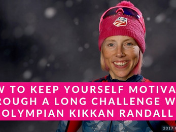 How to Keep Yourself Motivated Through a Long Challenge with Olympian Kikkan Randall