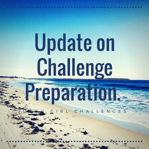 Update on Challenge Preparation.