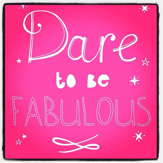 Instagram - 💓💓Your challenge for today!! 💓💓Dare to be fabulous!!! 💓💓 #chal