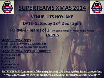 Super Teams X-mas Competition - Stage 1