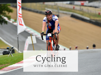 Cycling with Gina Cleere