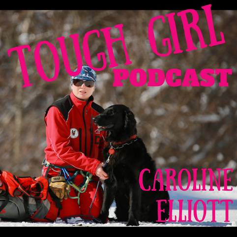 Caroline Elliott - French Search and Rescue - Mountain rescue with avalanche dog 'Fjord'