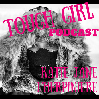 Tough Girl - Katie-Jane L'Herpiniere - Model turned adventurer, walking the entire length of the Gre