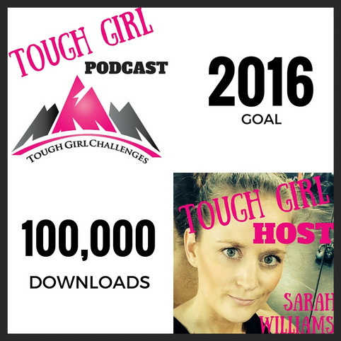 GOAL for 2016 - 100,000 Downloads of the Tough Girl Podcast