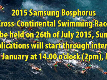 Samsung Bosphorus Cross-Continental Swim, Istanbul 2015