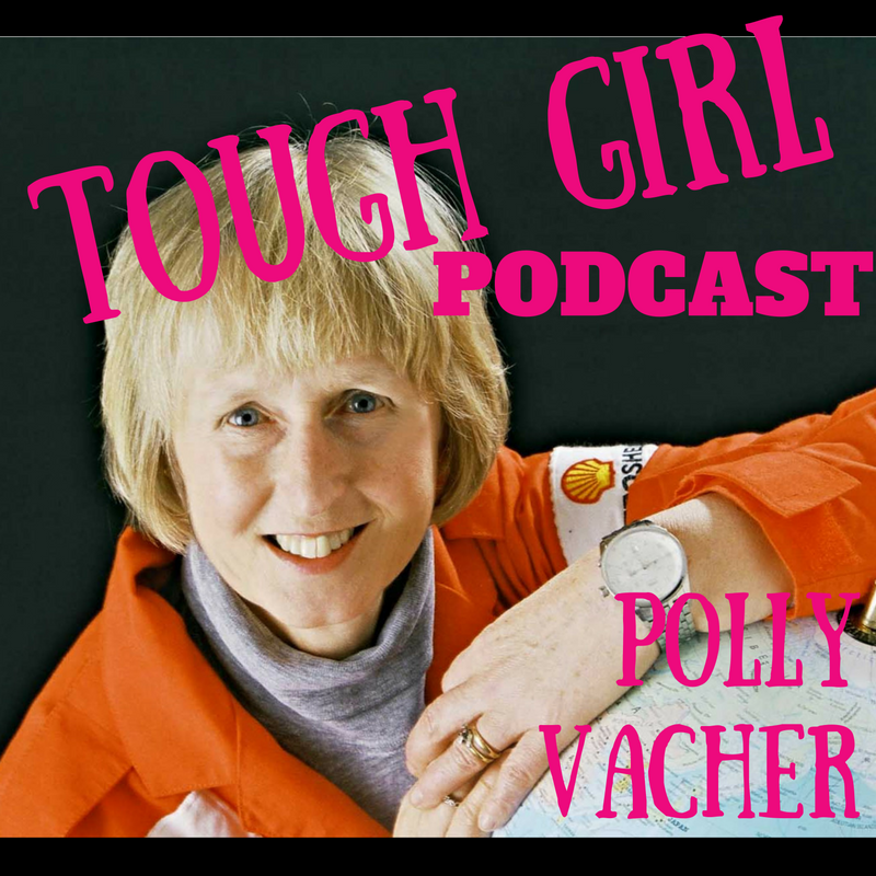 Polly Vacher - The first pilot to complete a solo flight around the world via both Poles in a single-engine aircraft!